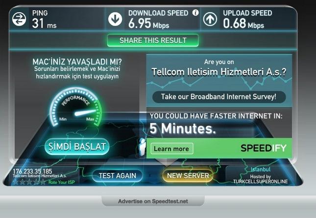 тестер скорости интернета