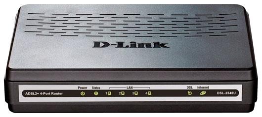 D-Link DSL 2540u