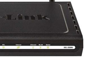 Параметры D-link DSL 2600u