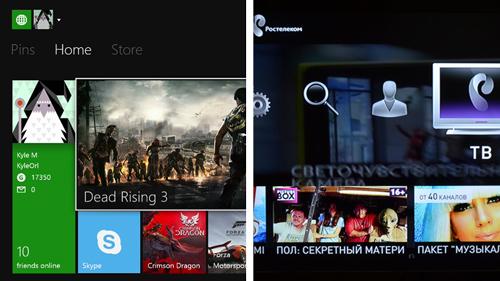 Интерфейс Microsoft в сравнение с Ростелекомом