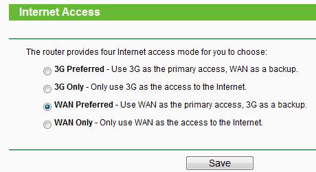 Настройка интернета на TL-MR3420