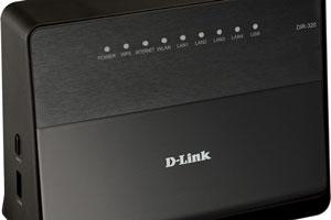 Параметры маршрутизатора D-Link