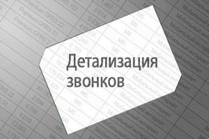 Детализация вызовов Ростелекома