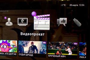 Прокат фильмов на интерактивном ТВ