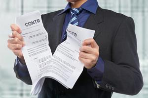 Расторжение договора с провайдером