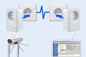 Как подключить адаптер PLC